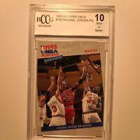 1993 Upper Deck #193 Michael Jordan Bulls HOF BGS 10 GEM MINT