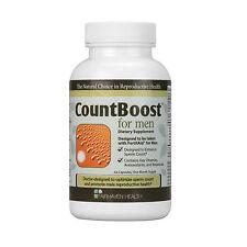 Fairhaven Health CountBoost Fertility Supplement Sperm Count Capsule for Men x60