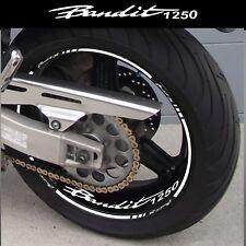 LISERETS JANTES MOTO BANDIT 1250 BANDIT S STICKERS  kit pour 2 jantes 40 couleur