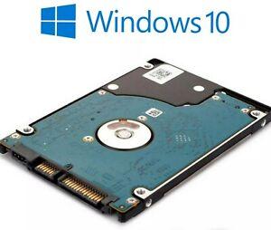 60 GB HDD Hard Drive. Windows 10 pro. Fresh install ready, DIY. Read!