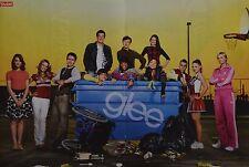 GLEE - A3 Poster (ca. 42 x 28 cm) - Lea Michele Clippings Fan Sammlung NEU
