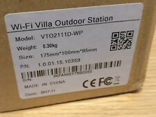 Dahua VTO2111D-WP Villa Outdoor Station / Video Doorbell