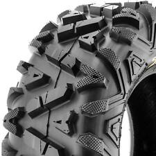 SunF 25x12-9 ATV UTV Tire 25x12x9  All Terrain Replacement 6 Ply A033  POWER I