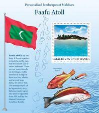 Z08 MLD16217b MALDIVES 2016 Faafu Atoll MNH