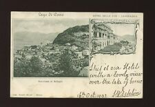 Italy LAGO DI COMO bi-view 1902 u/b PPC