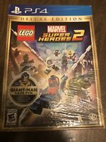 PS4 LEGO Marvel Super Heroes 2 Deluxe Edition  PlayStation 4