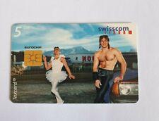 CARD PHONE  SWISSCOM  - GAY