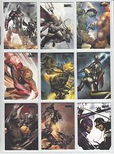 2010 Marvel Heroes & Villians SILVER PARALLEL Card Singles U PICK 1 Vilians