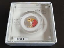 Beatrix Potter Mr.Jeremy Fisher Silver Proof 50p Coin
