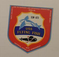 Ssn-673 Uss Flying Fish Sticker