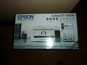 🌱Epson EcoTank ET-15000 All-In-One Wireless Inkjet Printer-SHIPS TODAY 🌱