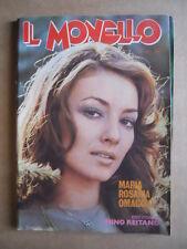 IL MONELLO n°10 1974 Maria Rosaria Omaggio + inserto Mino Reitano [G430]