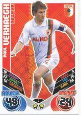 Paul Verhaegh  FC Augsburg  Match Attax Card 2011/12 signiert 400865