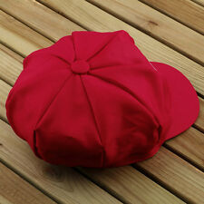 Chic Super Mario Bros Cosplay Adult Size Hat Cap Baseball Costume Red ColorCSYC