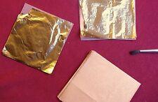 20 feuilles d'or 24 carats 6,9 x 6,9 cm - 2ème choix