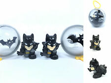 Lot of 2pcs BIGinkies Squinkies Batman Justice League Figure Capsule Toys