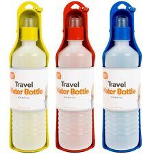 Travel Pet Water Bottle Portable Drinking Bowl Pet Care Belt Clip Hanging Hook