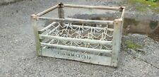 More details for vintage metal milk bottle crate,hanwood dairy.