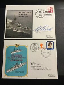 New Zealand Collection Of 10 Signed Military Cover