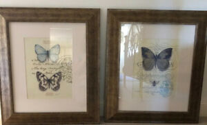 Artwork Bundle Butterfly Theme Wooden Extra Large 76cm Long