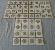 1896-98 Sweet Caporal P10 State Arms Full 48/48 Premium Pin Back Buttons Set