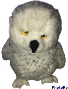 """Yomiko Classics Snow Owl Plush by Russ Berrie Spotted White 10"""" 357S1 Bird"""