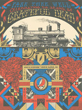 Grateful Dead Santa Clara Ca Train Poster Gd 50 Fare Thee Well S/N #/2015