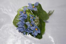 Veilchen Veilchenstrauß blau Tischdeko Kommunion Konfirmation Taufe