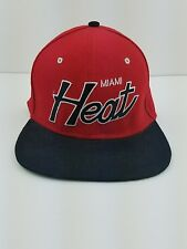 Miami Heat SnapBack Hat Cap Vintage Hardwood Classics Mitchell Ness
