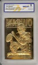 DAN MARINO 2000 23KT Gold Card NFL All-Time Passing Leader GEM MINT 10 * BOGO *