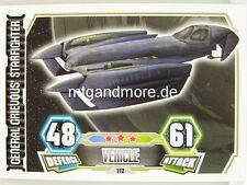 General Grievous' Starfighter  #112 - Force Attax Serie 3