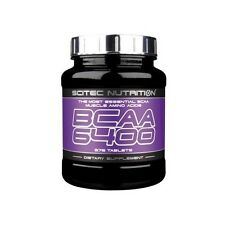 BCAA 6400 375 TABLETAS SCITEC NUTRITION