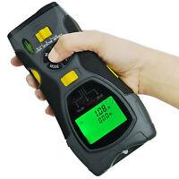 5-in-1 Distance Meter Stud Metal Joist AC Wire Detector Laser Marker Tool ˚C ˚F