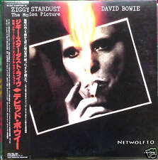 David Bowie - Ziggy Stardust  - The Motion Picture -  LP - Japan with OBI