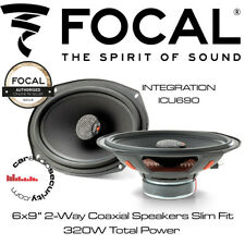 "Focal ICU690 - INTEGRATION 6x9"" 2-Way Coaxial Speakers Slim Fit Kit"