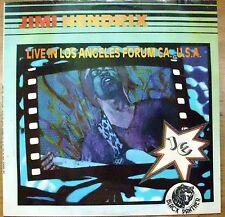 HENDRIX JIMI LIVE IN LOS ANGELES FORUM CA. U.S.A. RED HOUSE PURPLE HAZE LP 69