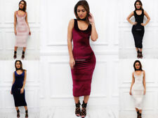 Stretch Scoop Neck Regular Size Dresses for Women
