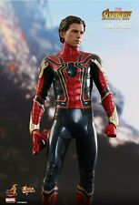 Hot Toys Marvel Avengers Infinity War Iron Spider Spider-Man MMS482 Sideshow 1/6