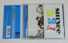 SHINee 321 Limited Edition B JAPAN CD+DVD