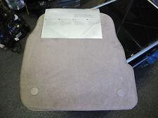 Audi A6  Rear Floor Mats - Light Brown (Melange) - 4B0 061 221EC - 4B0061221EC