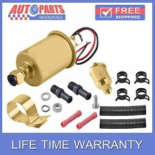 12V NEW UNIVERSAL ELECTRIC FUEL PUMP 30GPH 5-9PSI WITH KITS E8012S AW