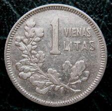 LITHUANIA = 1925 = 1 LITAS - SILVER