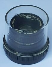 50mm enlarging lens. Minolta C.E.Rokkor 50mm f2.8. For 35mm film format
