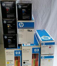 HP LaserJet Lot- Q3961A Q3962A Q3963A, C4152A, C4149A, 96A and MORE!