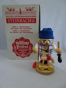 "NEW Steinbach 9.75"" Troll Toy Maker w Rocking Hobby Horse Nutcracker S-1493"