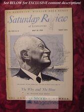 SATURDAY REVIEW May 20 1950 JOHN MASEFIELD WILLIAM ROSE BENET