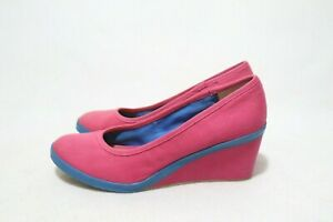 Keds Size 10 Womens Multicolored Canvas Wedge
