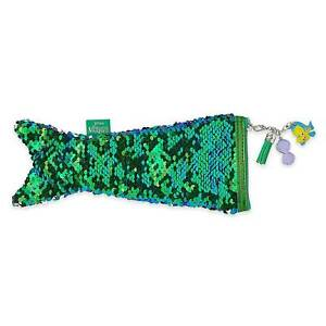 Disney Store The Little Mermaid ARIEL Reversible sequins Case New w/tags