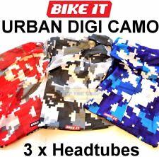 3 x Digi Camo Neck & face Headtube Bandana Skull cap Headband Motorcycle MTB