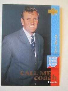 Don Revie Call Me Coach card from Upper Deck England 1997